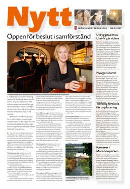 Nyhetstidning för Sundbybergs stad