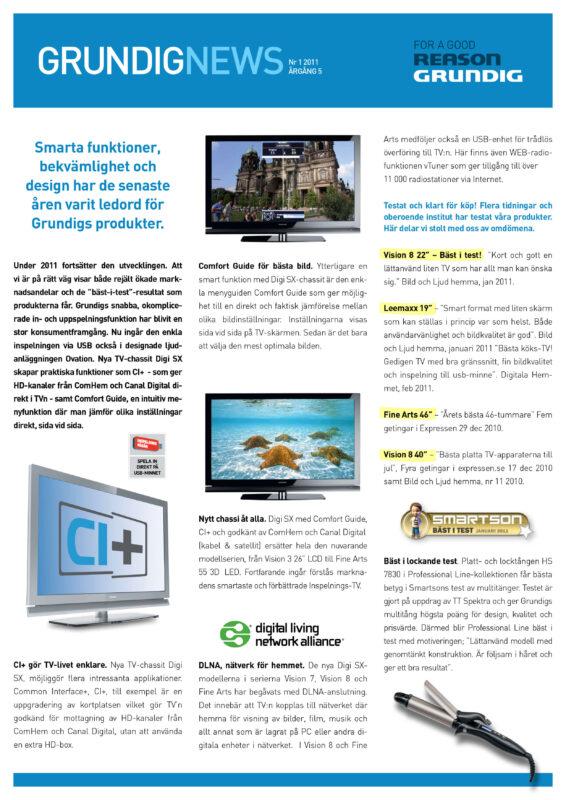 Grundig News 2011-1